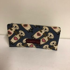 4/$20 fabric otter wallet